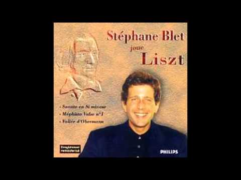 Liszt - Sonata in B minor. Stéphane Blet, piano