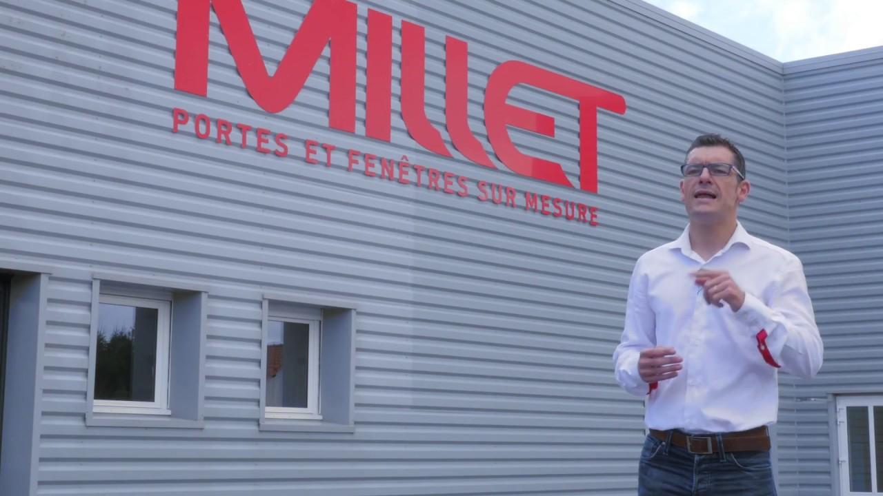 Vidéo Millet Fabricant De Portes Et Fenêtres Sur Mesure