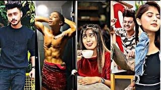 Tiktok new viral videos | 🔥♥️ hardik sharma, madboi, arishfa khan,gully gang #ttvt slow-motion tikt