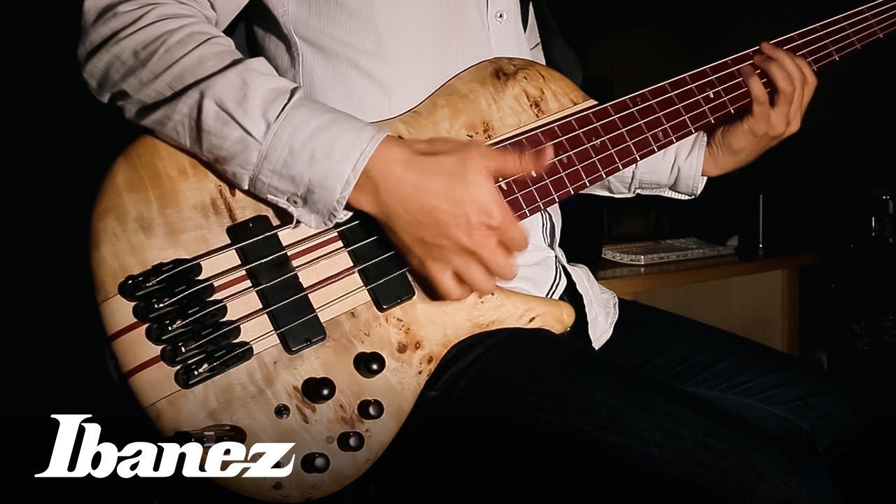 ibanez bass workshop srsc805ntf youtube