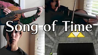 Song of Time - Ocarina of Time Guitar/Violin/Vox Cover