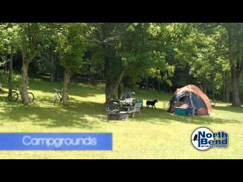 North Bend State Park, Rail Trail & Lake