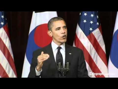 Barack Obama urges North Korea to 'pursue peace'