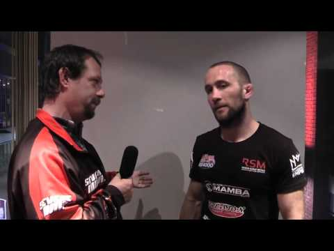 Post fight interview with Ste Nightingale at United Kingdom FC 1