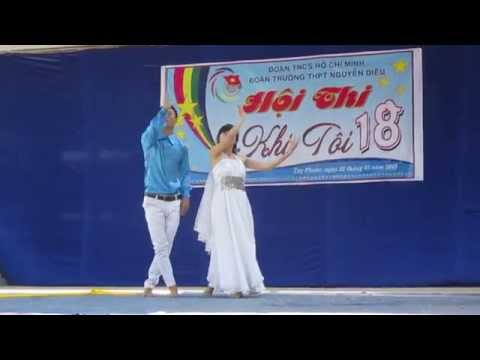 """Múa """"Tự Nguyện"""" chi đoàn 12a2 trường THPT Nguyễn Diêu ( 2014-2015 )"""