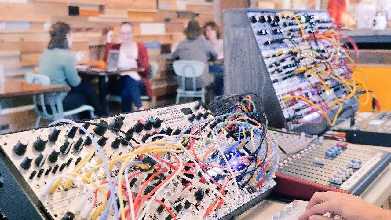 live excerpt lampeo lightbath eurorack modular synthesizer youtube. Black Bedroom Furniture Sets. Home Design Ideas