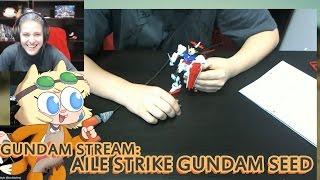 GUNPLA BUILD!: Aile Strike Gundam Seed HG