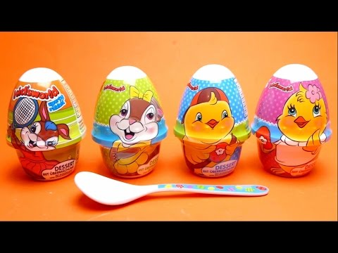 Kidsworld Funny Bunny Edition - Dessert with Surprise Toys