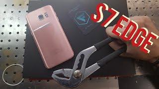 Замена стекла Samsung S7 Edge , samsung G935, change glass replacement Samsung S7 Edge
