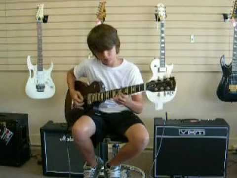 Music Land! Music Store Parma, Oh  Music Challenge Tyler  Gibson Guitar!