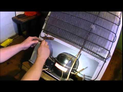 Пусковое реле холодильника ст. машины (Простое схема 5 элементов .