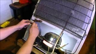 Ремонт холодильника бирюса ( Часть 2 ) / Refrigerator repair(, 2015-06-14T19:32:55.000Z)