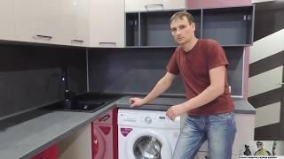 Розетки на кухне; что получилось после установки кухонного гарнитура