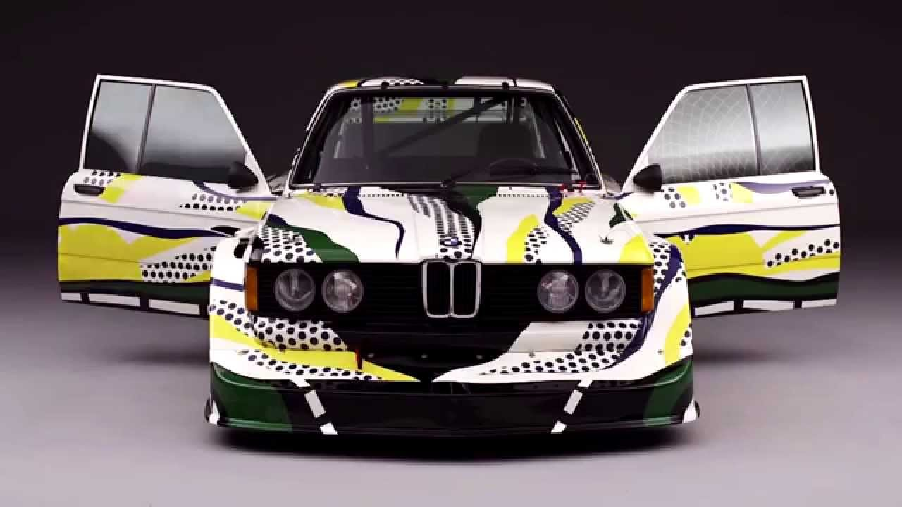 bmw art cars collection revised roy lichtenstein 1977 studio shots automototv youtube. Black Bedroom Furniture Sets. Home Design Ideas