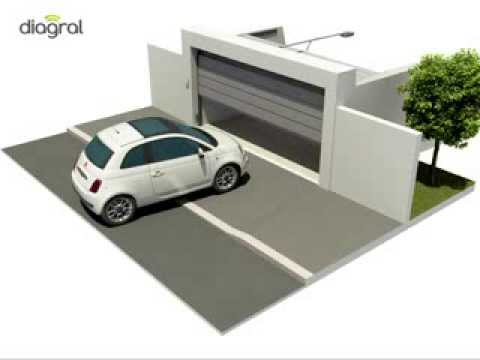 Automatisme de portes de garage diag03mgf diagral by adyx for Automatisme de garage