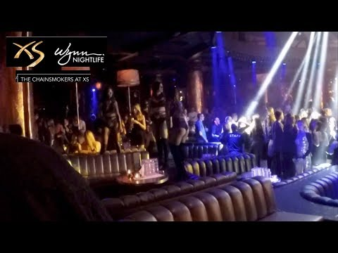Crones Vlog Las Vegas XS Night Club With The Chainsmokers