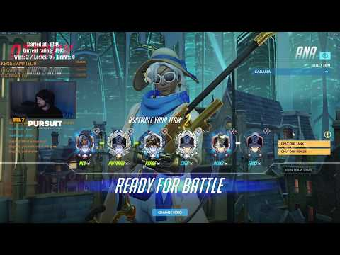 Overwatch Ana God mL7 Showing His Monster...