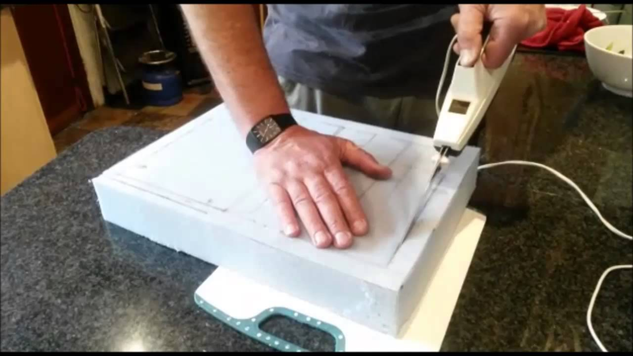 How to cut foam rubber with elec carving knife youtube