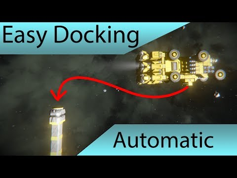 Space Engineers - Spug's Easy Auto-Docking Showcase (update)