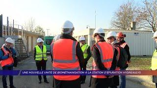 Yvelines | Une nouvelle unité de biométhanisation à la station d'épuration Hydreaulys