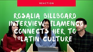 Rosalia Says Flamenco Connects Her To Latin Culture | Interview (Reaction) | The Millennial Chisme