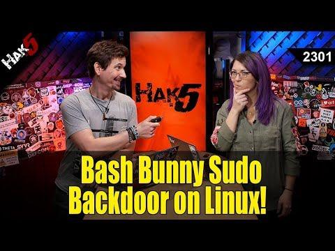Bash Bunny Backdoor on Linux! - Hak5 2301