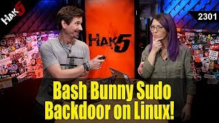 Bash Bunny Backdoor on Linux! - Hak5 2301
