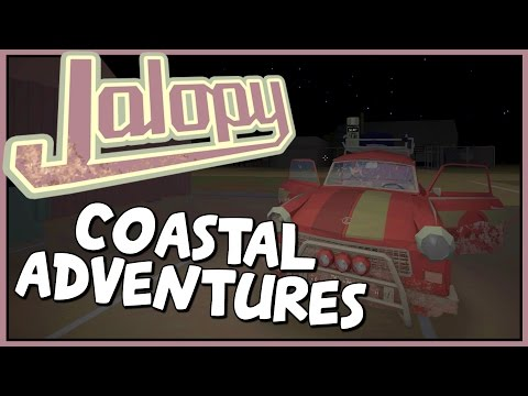 COASTAL CRUISE - Jalopy - Yugoslavian Travels [Let's Play Jalopy Gameplay]