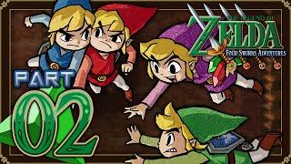 The Legend of Zelda: Four Swords Adventures - Part 2 - Cave of No Return