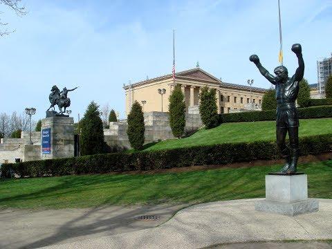 rocky statue with tom brady jersey