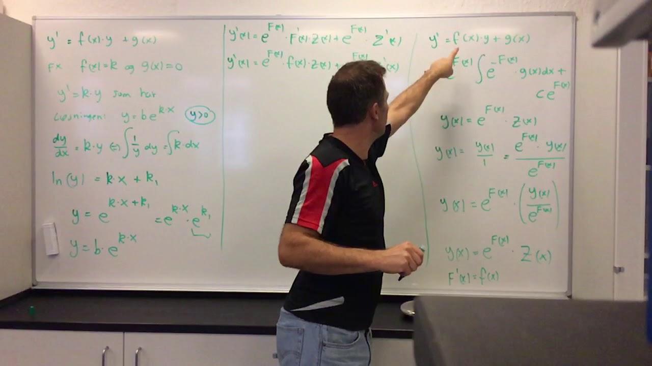 MAA Eksamensspg. 17 Differentialligninger (2017)