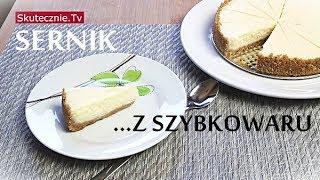Sernik... z szybkowaru. Sernik nowojorski (szybki, pyszny, wilgotny) :: Skutecznie.Tv
