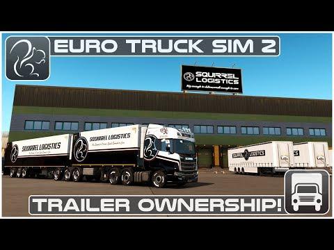 Trailer Ownership! - 1.32 Beta (Euro Truck Simulator 2)