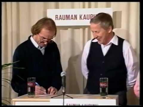 Firma-Visa II. Rauman Kaupunki-Rauman Kaupunginteatteri 17.1.1991 Westmedia Oy. Rauma-