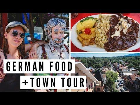 GERMAN FOOD IN ARGENTINA! + Town Tour Of VILLA GENERAL BELGRANO, Córdoba