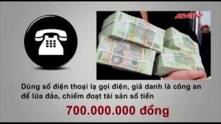 Công an Hà Nội phá đường dây rửa tiền xuyên quốc gia