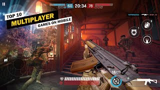 Top 10 Best Multiplayer Games On Android & iOS! 2019-2020