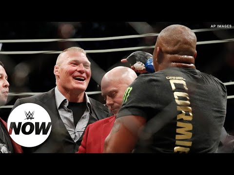 Brock Lesnar and Daniel Cormier's UFC beef explained: WWE Now