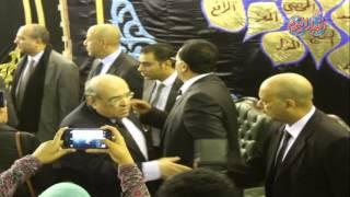 أخبار اليوم | مصطفى الفقى يقدم العزاء فى وفاة يحيى الجمل