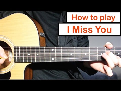 blink-182 - I Miss You | Guitar Lesson (Tutorial) How to play the ...
