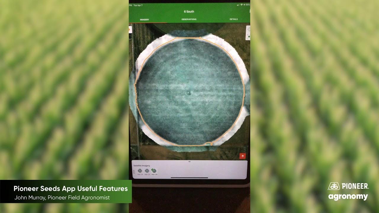Pioneer Seeds App Useful Features