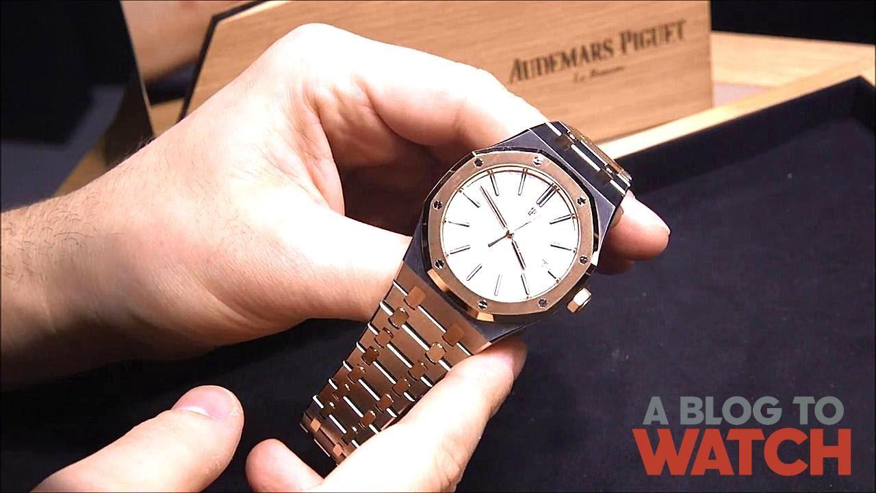 e46d1cdac3b3e Audemars Piguet Royal Oak Two-Tone 15400SR Watch Hands-On ...