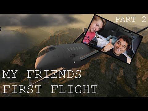 My friends first flight / XPilot P / EP.2