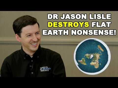 Dr. Jason Lisle DESTROYS Flat Earth NONSENSE! | ICR - Christian Creationism