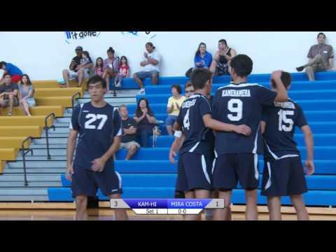 2016 Boys Volleyball: Kamehameha-Hawaii (HI) vs. Mira Costa (CA) (April 8, 2016)