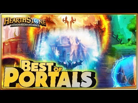 Hearthstone - Best of Portals - Funny and lucky Rng Moments