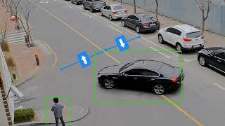 Wisenet X Direction Detection