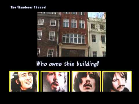 London Beatles Sites Advert