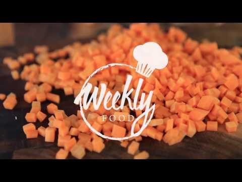 Как резать кубиками морковку