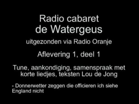 Radio Cabaret De Watergeus - Aflevering 1, deel 1